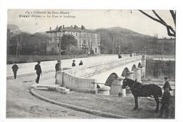 CREST  (cpa 26)   Le Pont Et Soubéran -   - L 1 - Crest