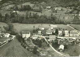 88 Vosges SAPOIS Vue Aérienne Le Centre Du Village    Carte Glacée Voyagée - France