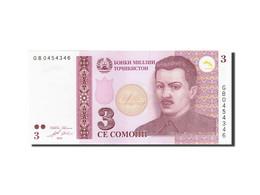 Tajikistan, 3 Somoni, 2010, KM:20, 2010, NEUF - Tadjikistan