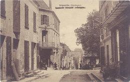 Cpa 24 – Sigoulès – Route De Pomport Et Bergerac - Autres Communes