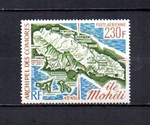 Comores   1975   .-   Y&T   Nº   67   **    Aéreo - Comoros