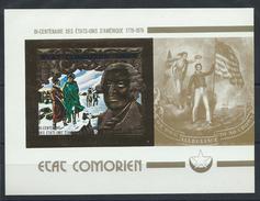 "Comores PA N° 100** (MNH) 1976 - ""Georges Washington"""