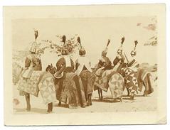 "NIGER - Dosso  ""cavaliers D´escorte Du Djerma-koï (Roi Des Djermas)"",  Photo Originale - Africa"