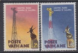 Vatican City 1959 Radio Vatican 2v ** Mnh (34678B) - Vaticaanstad