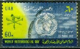 1962 - EGYPTE - Journée De La Météorologie Mondiale - N° PA 86 - Poste Aérienne
