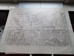 VERDUN (Mezières) Revisée 1911 ( Formaat 74 X 53 Cm. ) Zie Foto´s ! - Europe