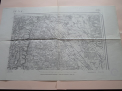 BEAUNE 125 Type 1889 Revisée 1913 Tirage 1941 ( Formaat 54 X 34 Cm. ) Zie Foto´s ! - Europa