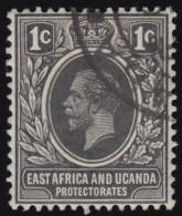 EAST AFRICA & UGANDA PROTECTORATES - Scott #40 King George V (*) / Used Stamp - Kenya, Uganda & Tanganyika