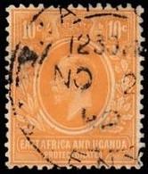 EAST AFRICA & UGANDA PROTECTORATES - Scott #43 King George V (*) / Used Stamp - Kenya, Uganda & Tanganyika