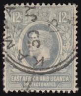 EAST AFRICA & UGANDA PROTECTORATES - Scott #44 King George V / Used Stamp - Kenya, Uganda & Tanganyika