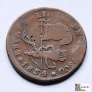 México - 1/4 Real - Estado Libre De Jalisco - 1834 - Mexiko