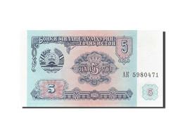 Tajikistan, 5 Rubles, 1994, KM:2a, 1994, NEUF - Tadjikistan