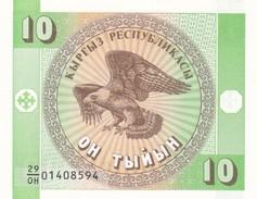 KIRGHIZISTAN  10 TYIYN  1993    FDS - Kirgisistan