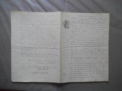 31 MARS 1885 BAIL PAR Mme LECHALARD EUGENIE Vve BREBION A NOGENT LE ROI A M.BARRE BERNARDIN CULTIVATEUR A ROINVILLE SOUS - Manuscripts