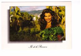 Ile De La Réunion Reunionnaise Jolie Femme , Carte Non Voyagée - La Réunion