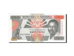 Tanzania, 200 Shilingi, 1993-1995, KM:25b, NEUF - Tanzanie