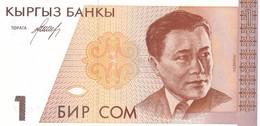 KIRGHIZISTAN  1 SOM  1994    FDS - Kirgisistan
