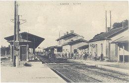 Cpa 26 – Livron – La Gare - France