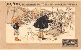 THEME CACAO / Carte Illustrée - Gala Peter Le Premier De Tous Les Chocolats Au Lait - Autres