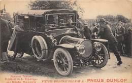 THEME PNEUMATIQUE / Pneus Dunlop - Voiture Delaunay Belleville - Beau Cliché Animé - Cartoline