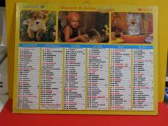 Calendrier > Les Paysages Avec Nos Amis - Almanach Des P.T.T. 2004 Vendu En état - Calendars