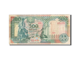 Somalie, 500 Shilin = 500 Shillings, 1989, KM:36a, 1989, TB+ - Somalia
