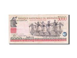 Rwanda, 5000 Francs, 1998, 1998-12-01, KM:28a, TTB - Rwanda