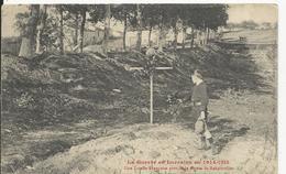 Rehainviller    Tombe Française  Pres De La Route   Guerre 1914-18 - Other Municipalities