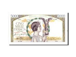 France, 5000 Francs, 5 000 F 1934-1944 ''Victoire'', 1943, 1943-02-18, KM:97d - 1871-1952 Anciens Francs Circulés Au XXème