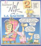 EL HUMOR DE NIK 2 EN LA NACION AÑO 1995 120 PAGINAS HISTORIETAS CON NUMEROSAS FOTOS HUMOUR HUMORISTICO HUMOURISTIQUE - Humor