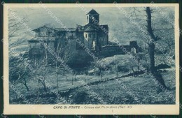 Brescia Valle Camonica Capo Di Ponte Cartolina QK6910 - Brescia