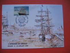 CP  Armada Du Siècle    Rouen 9 - 18  Juillet 1999 - Vari