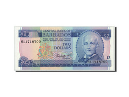 Barbados, 2 Dollars, KM:36, NEUF - Barbades