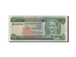 Barbados, 5 Dollars, KM:32a, SUP - Barbades