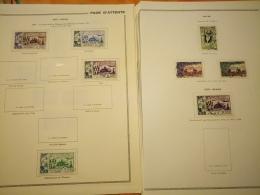 D0981 LOT FEUILLES COLONIES NEUFS / OB A TRIER  BELLE COTE DÉPART 10€ - Sammlungen (im Alben)