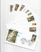 """Enveloppes  1er Jour FDC 2005 10 Enveloppes """"Portrait De Régions"""" - FDC"""
