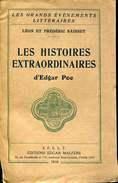 Poe Les Histoires  Extraordinaires Leon Et Frederic Saisset  Ed Malfere - Toverachtigroman