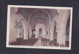La Tour St Saint Gelin (37) Interieur De L' Eglise ( Bicolore COMBIER ) - Frankrijk