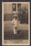Smallest Man In The World - Capitaine Werner Ritter A L'expo De Chicago 1934 - Avec Un Autographe - Zirkus