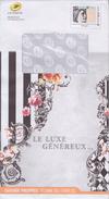 """= Enveloppe Entier Monde 250g Catalogue Phil@poste Décembre 2016 - Février 2017  """"Le Luxe Généreux"""" - Pseudo-entiers Officiels"""