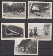 Nouvelle Guinée - New Hollandia - Série De 10 Photos - 31/10/1950 - Places
