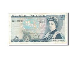 Grande-Bretagne, 5 Pounds, 1971, KM:378a, TTB - 1952-… : Elizabeth II