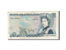 Grande-Bretagne, 5 Pounds, 1971, KM:378a, TB - 1952-… : Elizabeth II