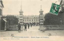 CHALONS SUR MARNE QUARTIER FORGEOT 25e ARTILLERIE - Châlons-sur-Marne