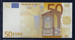 """50 EURO """"CAL MOLINE"""", Papier, 160 X 82 Mm, RRRRR, UNC -, - EURO"""
