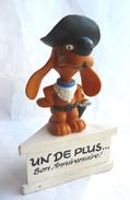 Rare FIGURINE SCHLEICH BOULE & BILL COWBOY SUR SOCLE Bon Anniversaire 1985 - Autres