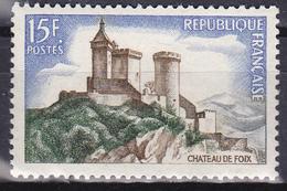 Timbre-poste Neuf** - Château De Foix - N° 1175 (Yvert) - France 1958 - France