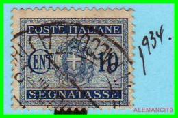 ITALIA - SELLOS  AÑO 1934 - 1900-44 Victor Emmanuel III