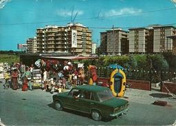 Campomarino (Campobasso, Molise) Via Pista Alleata, Animata, Auto Fiat 128, Car, Voiture - Campobasso