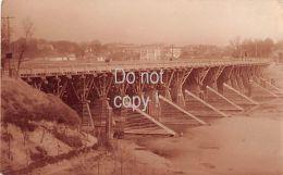 Styr Brücke Bei Luck Im 1. Weltkrieg Photo Card - Oekraïne